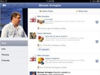 Descubierta la aplicación oficial de Facebook para el iPad