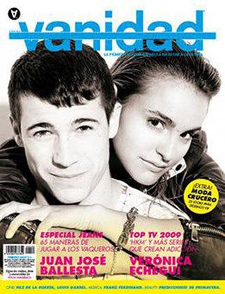 veronica echegui en la revista vanidad
