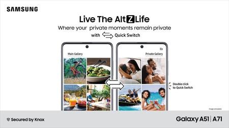 Samsung mejora la seguridad de OneUI introduciendo un modo privado para apps y más