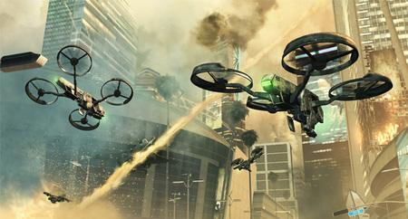 'Black Ops 2' muestra hasta qué punto va a cambiar su multijugador con el uso de las armas del futuro