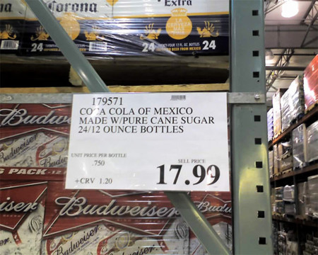 Coca cola en Costco