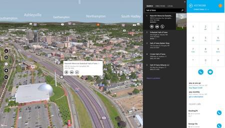 Bing Maps Skype