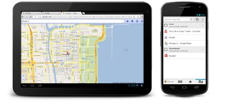 Presentación de Chrome para Android