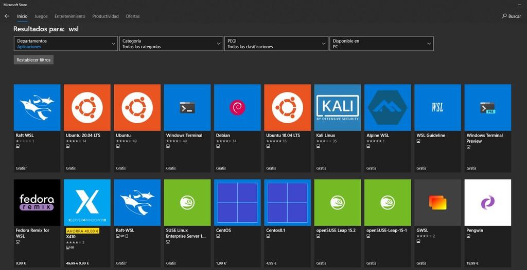 La última build de Windows 10 permite que las distribuciones WSL puedan ejecutar comandos de Linux al iniciarse