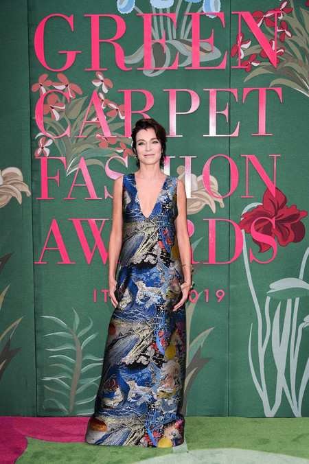 Stefania Rocca green carpet fashion awards 2019