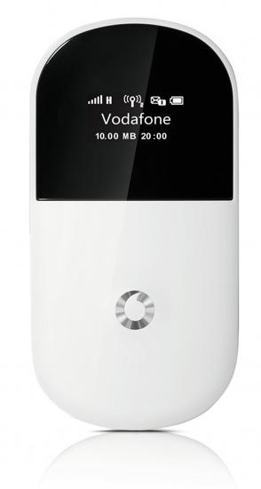 Vodafone R205, nuevo módem 3G para dar WiFi a ocho equipos