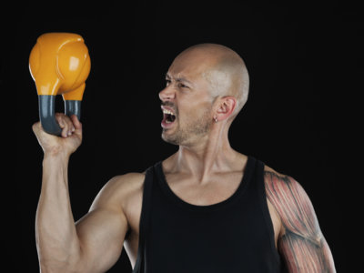 Guía Crossfit (LIV): one arm kettlebell bottoms up clean