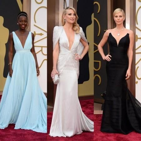 Tendencias en la alfombra roja de los Oscar 2014