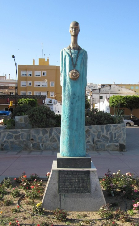 Malac Noctiluca Godess Statue In Rincon De La Victoria