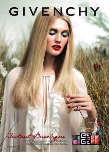 Colores intensos en Givenchy para esta Primavera-Verano 2012