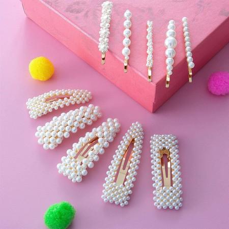 Horquillas Perlas 3