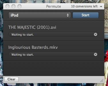 Permute, conversor de vídeos precioso y preciso para Mac