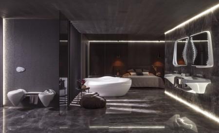El futuro ya está aquí: Porcelanosa presenta Vitae, la colección que diseñó Zaha Hadid