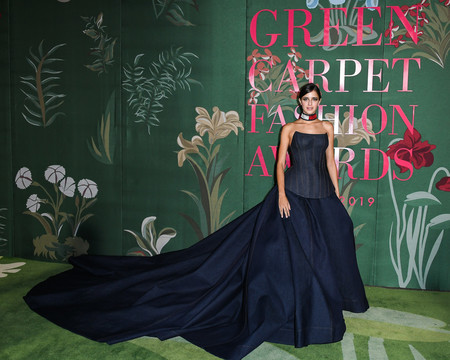 Benedetta Porcaroli green carpet fashion awards 2019