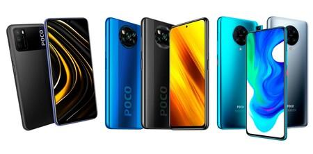 Xiaomi Poco M3 Vs Poco X3 NFC Vs Xiaomi Poco F2 Pro, comparativa: enfrentamos a la familia