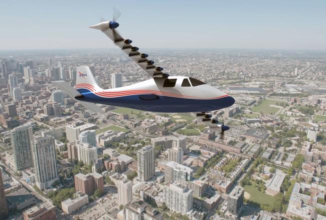 Maxwell X 57 Plane 01