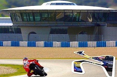 El circuito de Jerez embargado.