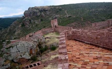 Paisaje desde el castillo Peracense