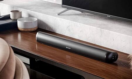 Por menos de 60 euros: el sonido de tu smart TV parecerá otro gracias a la económica barra Sharp HT-SB107, rebajada a 58,99 euros en Amazon y MediaMarkt