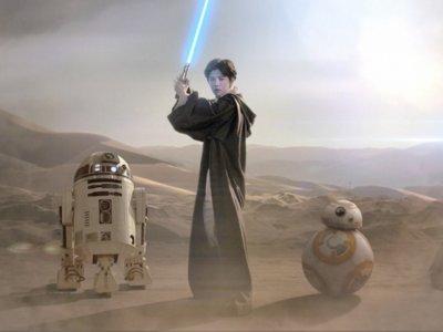 'Star Wars VII' presenta un ridículo videoclip con el Justin Bieber chino para triunfar en el país asiático
