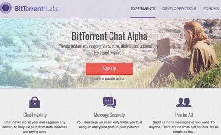 BitTorrent lanza Chat, una aplicación de mensajería instantánea a prueba de espías