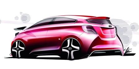 Toyota Yaris Sketch