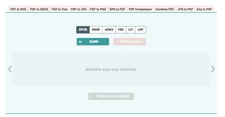 Convertidor Ebook Convertir Pdf Y Otros Formatos De Libros Electronicos 2018 03 05 17 58 18