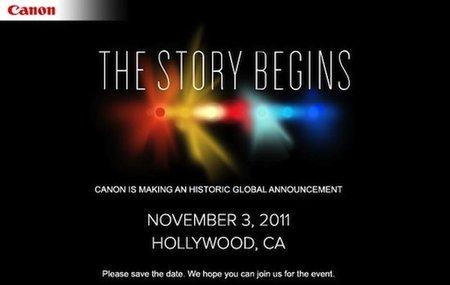 La gran sorpresa de Canon del 3 de noviembre