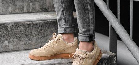 Un icono mejorado en clave natural: zapatillas Nike Air Force 1 07 LV8 Suede