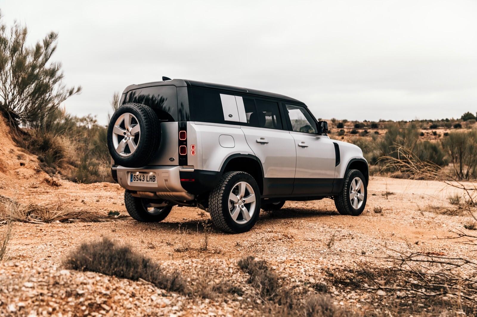 Foto de Land Rover Defender 110 (prueba) (13/41)