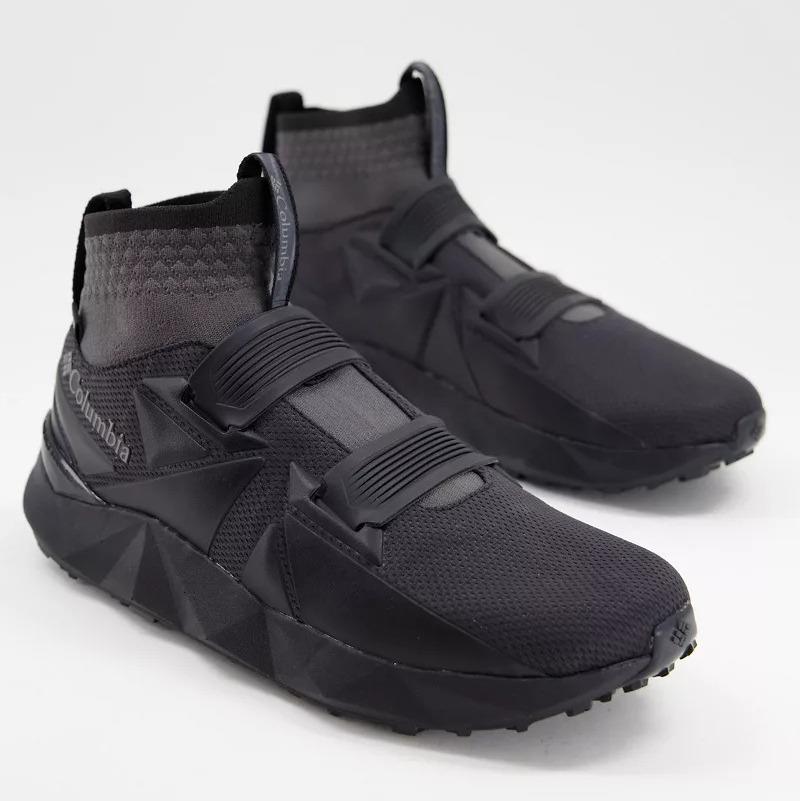 Zapatillas de deporte negras y grises Facet 45 de Columbia