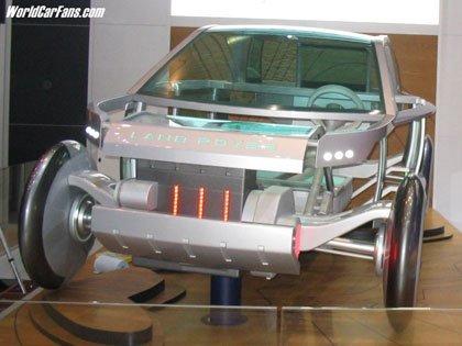 Land Rover Land_e Concept, ¿y la carrocería?