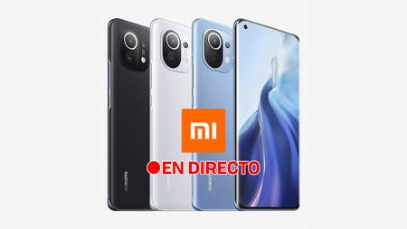 Xiaomi Mi 11: sigue la presentación de hoy en directo y en vídeo con nosotros [finalizado]