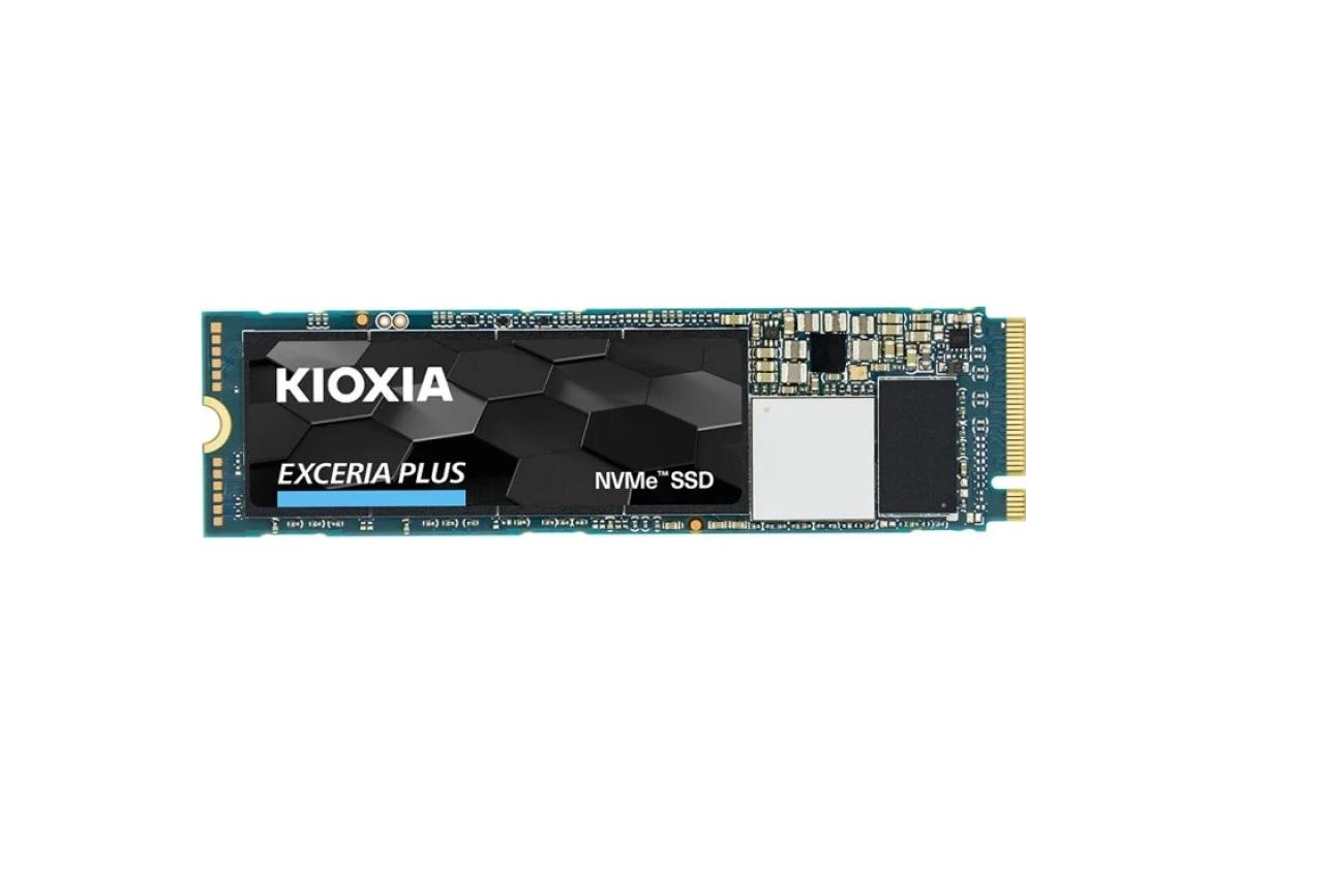 Kioxia EXCERIA PLUS 500GB SSD NVMe M.2 2280