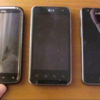 Comparativa entre Samsung Galaxy S2 vs LG Optimus 2X vs HTC Sensation