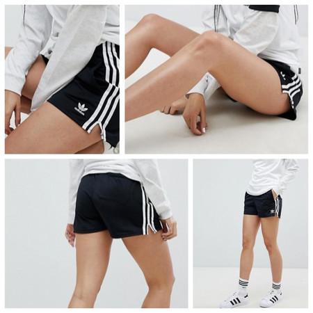 Pantalones cortos Adidas Originals para chica por 21,99 euros y envío gratis en Asos