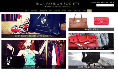 High Fashion Society Portal