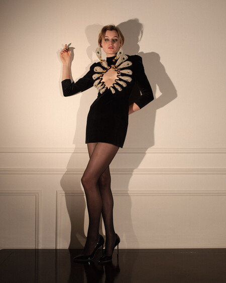 Emma Corrin In Schiaparelli Haute Couture