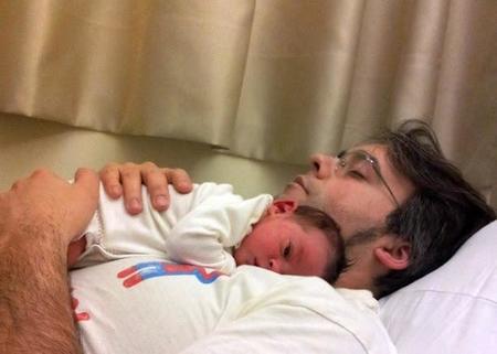 La foto de tu bebé: Raquel con papá