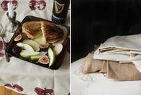 Hazlo tú mismo: un mantel decorado con manzanas
