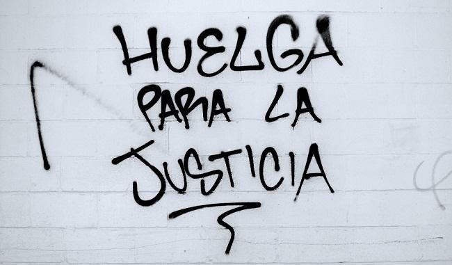 huelga justicia