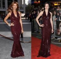 Vestido de Donna Karan: ¿Iman o Eva?