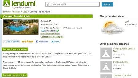 Tendumi: completa guía de campings online