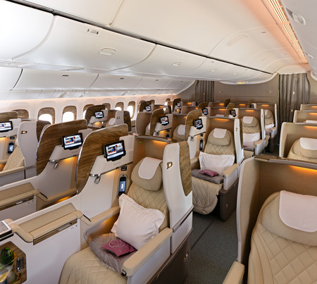 Emirates Airways Suite Lujo 3