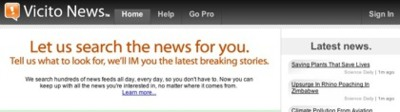 Vicito News, las noticias que te interesan en tu red de mensajería habitual