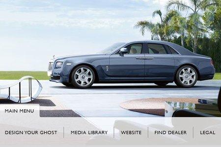 ¿Tienes un iPhone? Configura tu Rolls Royce Ghost
