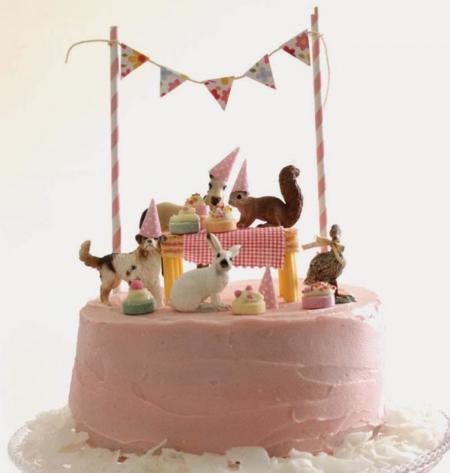 7 originales decoraciones de pasteles muy sencillas de realizar