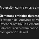 Según algunos usuarios, la última actualización de Windows Defender está provocando fallos durante el análisis en Windows 10
