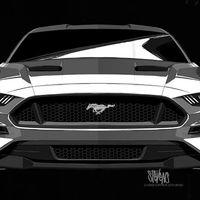 El lado oscuro duerme en el Ford Mustang para seguir conquistando territorios