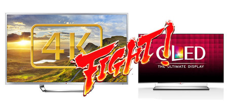 Televisiones OLED o 4K, ¿por cuáles suspiro?